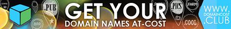 Domain Cost Club (DCC) für die günstigsten Domains am Markt
