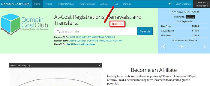 DomainCostClub_Domainpreise_vergleichen_auf_dieser_Seite_oben_auf_TLDs_klicken