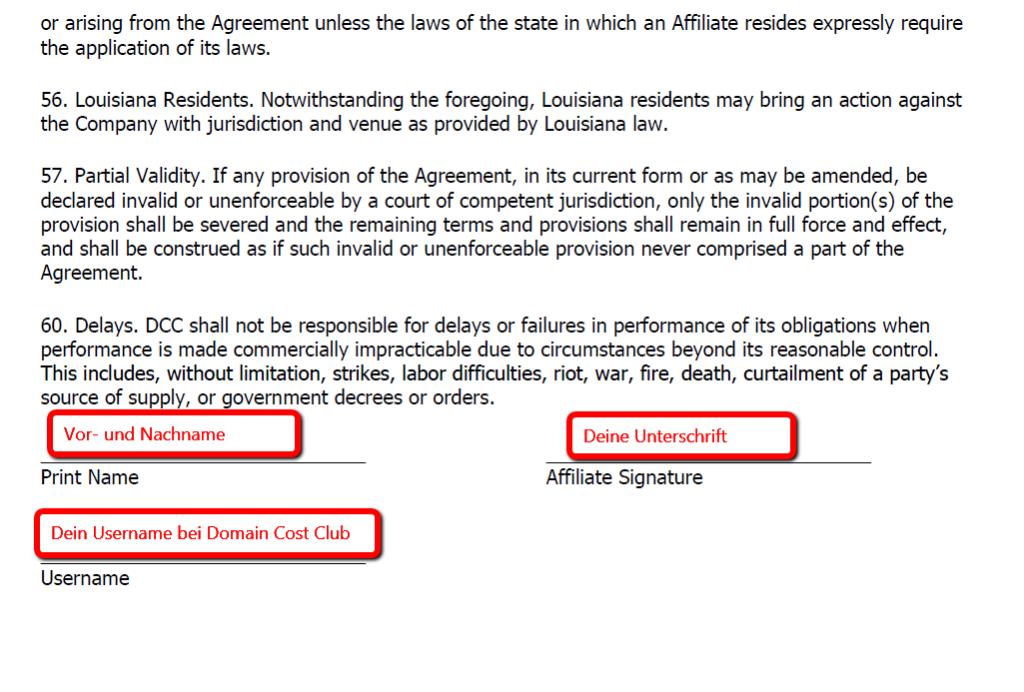 Domain_Cost_Club_Independent_Affiliate_Policies_and_Procedures_ausfüllen_wie_auf_diesem_Bild_ersichtlich